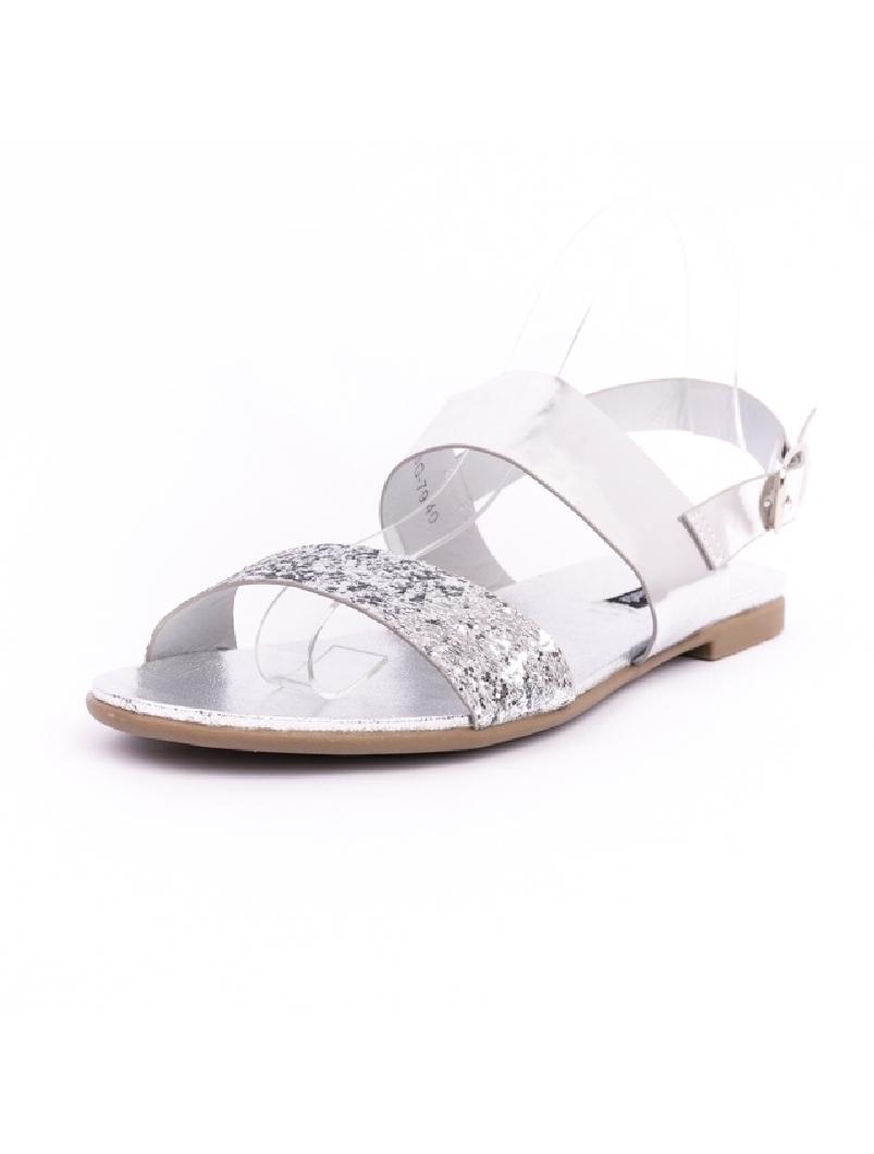Sandale Dama ShinyDay Argintii