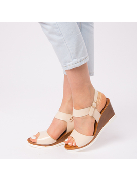 Sandale Dama Lacuite Gina Crem