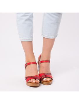 Sandale Dama Animal Print Cecilia Rosu-2