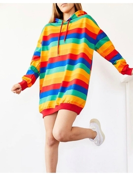 Hanorac Dama RainbowDash Multicolor