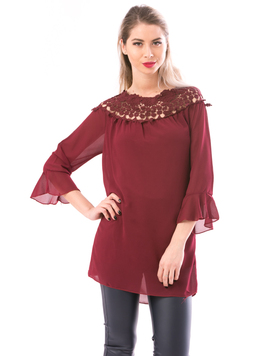 Bluza Dama SunColor Bordo