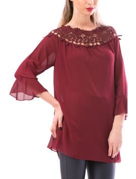 Bluza Dama SunColor Bordo-2