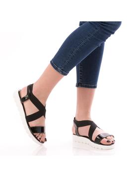 Sandale Dama LuckyLetty Negru-2
