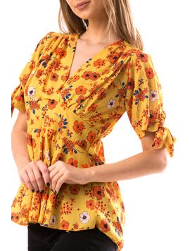 Bluza Dama SashiLow Mustar-2