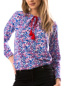 Bluza Dama TryYma24 Albastru-2