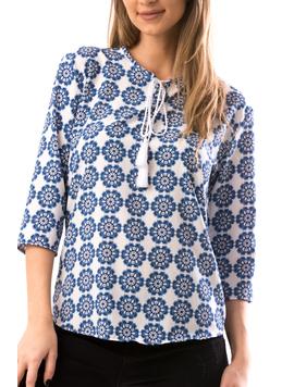 Bluza Dama TryYma25 Albastru-2