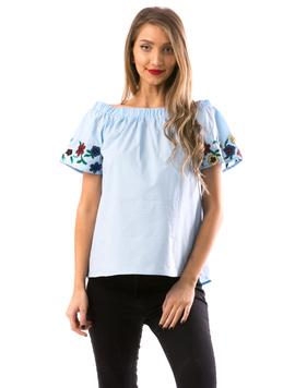 Bluza Dama DownSho Bleu