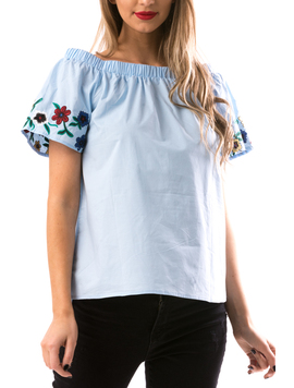 Bluza Dama DownSho Bleu-2