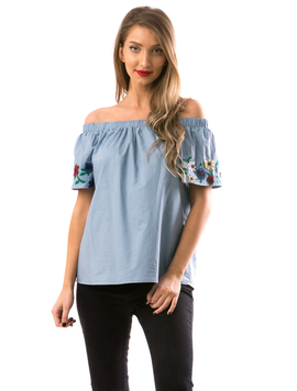 Bluza Dama DownShho Bleu