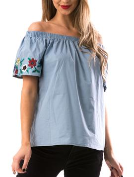 Bluza Dama DownShho Bleu-2