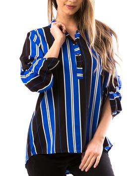 Bluza Dama NumReq Albastru-2