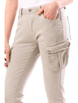 Jeans Dama BoyWer Gri-2