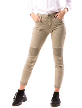Jeans Dama BoyFret Bej
