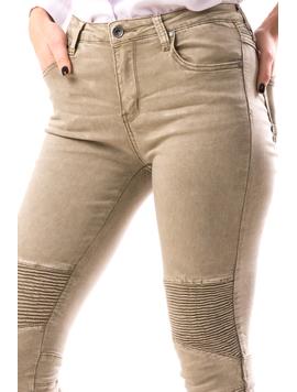 Jeans Dama BoyFret Bej-2