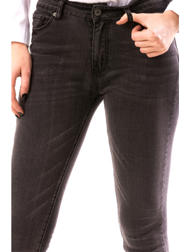 Jeans Dama DreLo Gri-2