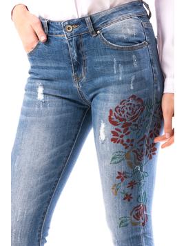Jeans Dama RoSe Bleumarin-2