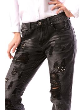 Jeans Dama StarBv Negru-2