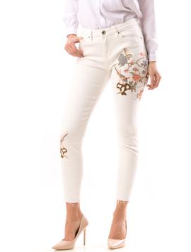 Jeans Dama JeN12 Alb