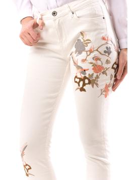 Jeans Dama JeN12 Alb-2