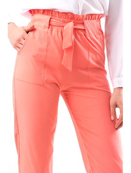 Pantaloni Dama DrewTre Roz-2