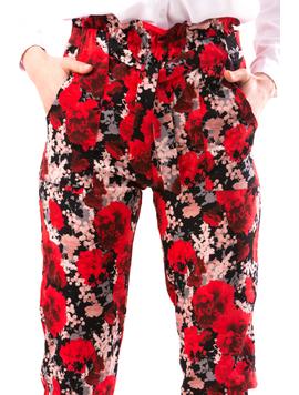 Pantaloni Dama DrewTre Rosu-2