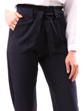 Pantaloni Dama DrewTre Bleumarin-2