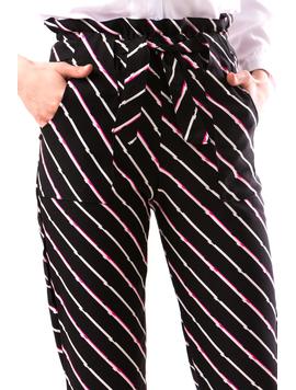 Pantaloni Dama DrewYel Negru-2