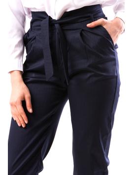 Pantaloni Dama RalphMei Bleumarin-2