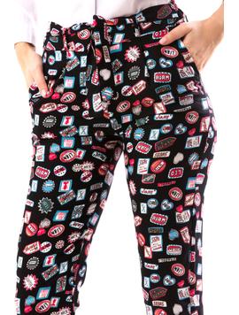 Pantaloni Dama WonderTy Negru-2