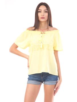 Bluza Dama Ubse18 Galben