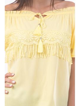 Bluza Dama Ubse18 Galben-2