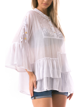 Bluza Dama Ghertyy89 Alb-2