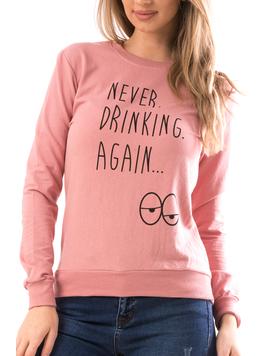 Bluza Dama NeverDrink20 Roz-2