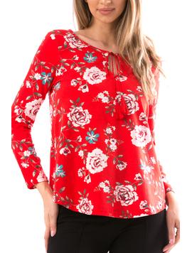 Bluza Dama Dorthy12 Rosu-2