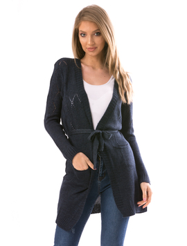 Cardigan Dama ShelbyErs10 Bleumarin
