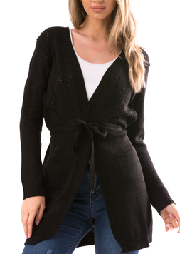 Cardigan Dama ShelbyErs10 Negru-2