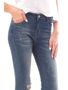 Jeans Dama Drewq14 Bleumarin-2