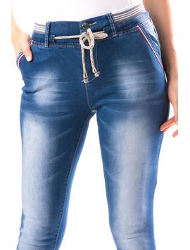 Jeans Dama PlyRty Bleu-2