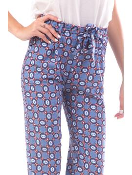 Pantaloni Dama Remnys90 Bleu-2