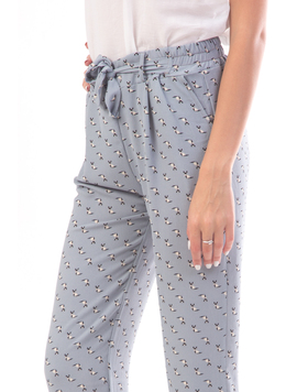 Pantaloni Dama Remnys80 Gri-2