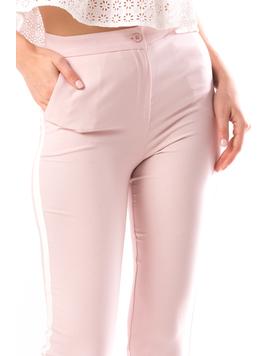 Pantaloni Dama Yersica10 Roz-2