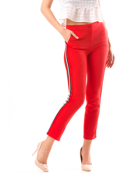 Pantaloni Dama Marsylis10 Rosu