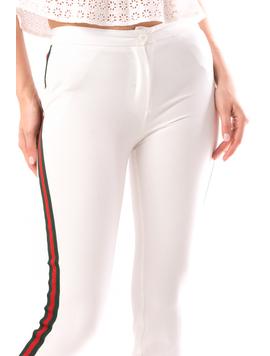Pantaloni Dama Marsylis20 Alb-2