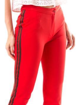 Pantaloni Dama Marsylis20 Rosu-2