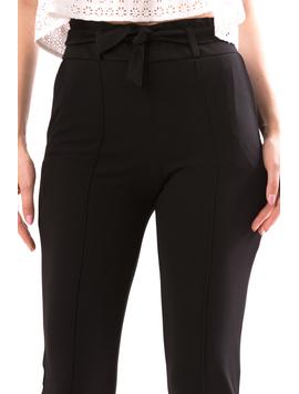 Pantaloni Dama Zoney90 Negru-2