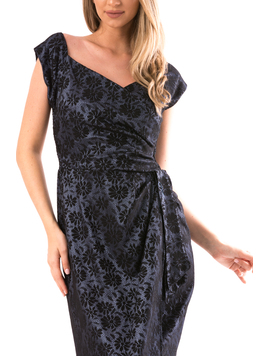 Rochie Dama SellyPrince2 Bleumarin-2
