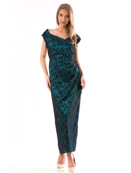 Rochie Dama SellyPrince2 Verde