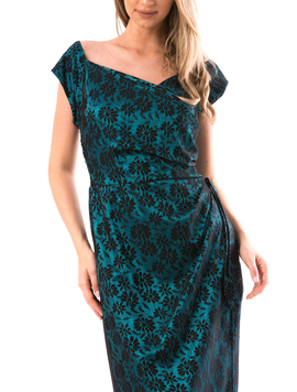 Rochie Dama SellyPrince2 Verde-2