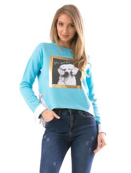 Bluza Dama GoodDoggo Bleu