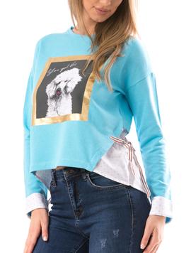 Bluza Dama GoodDoggo Bleu-2